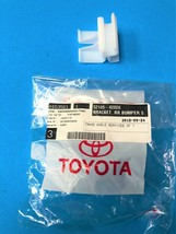 GENUINE TOYOTA RAV4 (2001-2005) FRONT/REAR BUMPER ABSORBER BRACKET 52185... - $19.27