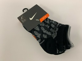 Nike Soft Dry Kids 3 Pack Socks Shoe Size 9C-13C #210G - $8.90