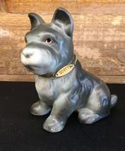 "Vintage Scottie Scottish Terrier Dog Ceramic Made In Japan 4""  - $18.99"