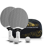 Table Tennis Rackets Set Professional Racket Composite Rubber Ping Pong ... - £15.53 GBP