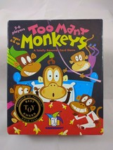 Too Many Monkeys Card Game Totally bananas Best toy award family FUN! - $5.48
