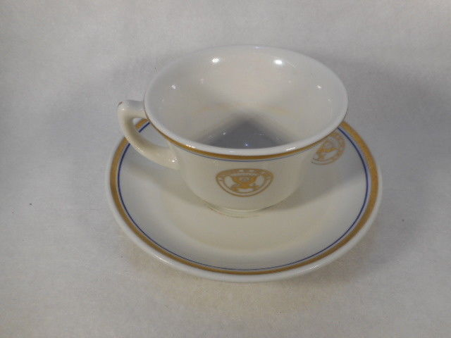 Vintage Shenango China USA Dept of the Navy Cup and Saucer