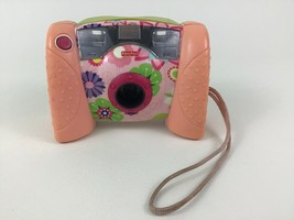 Kid Tough Digital Camera Toy Flowers Fisher Price 2006 with Batteries - $24.70