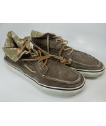 Sperry Top-Sider Size US 13 M (D) EU 47 Men's 6 Eye Hi top Boat Shoes Brown - $30.35