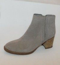 BLONDO Nina Waterproof Taupe Suede Ankle Boots  Side Braid 10 women - $57.39