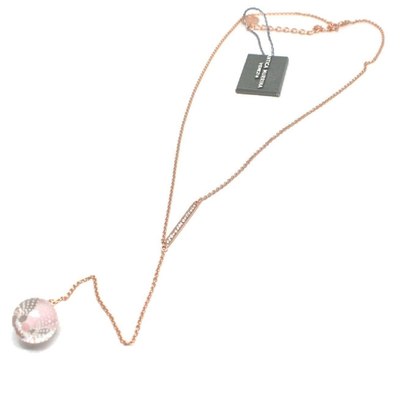 Collar Antica Murrina Venezia de Plata 925 con Cristal de Murano AMVJWCP009C03