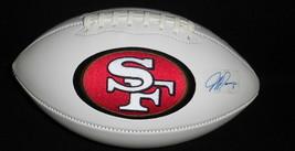 Jeff Garcia Signed Full Size 49ers Logo Football FLEER - $116.86