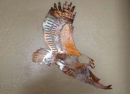 METAL WALL ART SOARING EAGLE - $45.53