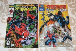Spider-Man 1991 #8 comic lot of 2 with anti-smoking 2000 Smokescreen issue  - £5.97 GBP