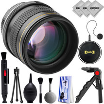 Opteka 85mm f/1.8 HD MF Aspherical Medium Telephoto for Nikon  DSLR Cameras - $115.14