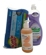 Household Cleaning Bundle Palmolive Ultra Dish Soap 20 Oz Hand Soap 10 O... - $27.90