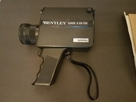 Vintage Bentley Super 8 BX-720 Movie Camera, Cover and Box, no instructions - $29.02