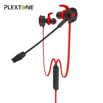 Plextone In-ear Earphone Gaming Headset Stereo with Mic PC Gamer for PS4 Xbox On - $55.76