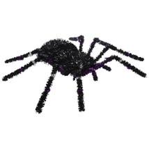Black and Purple Tinsel Spider - $10.00