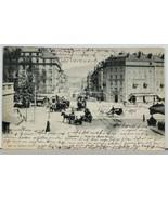 Switzerland Geneva Rue du Mont Blanc 1903 Clarens to West Hampstead Post... - $11.95