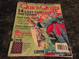 McCall's Quick Quilts June July 2011 Magazine Coneflowers - $2.69