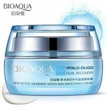 BIOAQUA HO Hyalo-Oligo Dual Recovery Active Abundant Water Skin Cream 50g - $14.24