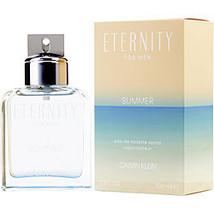Eternity Summer By Calvin Klein Edt Spray 3.3 Oz (Edition 2019) - $83.00