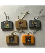 Nintendo 64 Mini Cartridge Christmas Tree Ornaments Zelda Ocarina Of Tim... - $33.69