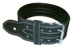 Powerlifting Belt 13mm 2 prong black suede IPF Approved Deadlift Squat - $64.99
