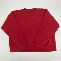 Vintage Starter Pro80 Heavyweight Sweatshirt Men's XL Long Sleeve Red - $18.95