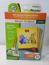 LEAP FROG LEAP READER JUNIOR GET READY TO READ SERIES EARLY VOCABULARY A... - $35.23