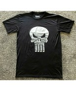 Marvel The Punisher Men's Polyester T-Shirt Large Black  - $12.99
