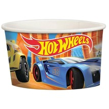 Hot Wheels Wild Racer Paper Snack Ice Cream Cups 8 Ct Birthday Party Sup... - $5.89
