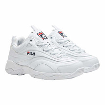 Fila Women Sneakers Disarray Size US 9.5 White Leather - $31.94