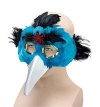 Pájaro Pluma Máscara & Beak.turquoise, Baile de Máscaras Antifaz, Disfraz - $4.86 CAD