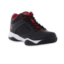 Fila Men's Bank Sneaker - Black/Red - $54.99