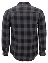 Men's Premium Cotton Button Up Long Sleeve Plaid Comfortable Flannel Shirt image 10