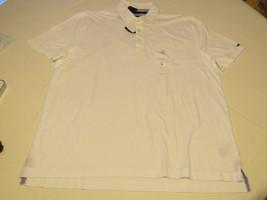 Men's Tommy Hilfiger Polo s/s shirt L Custom Fit 7899763 white 112 South Prep - $39.85