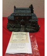 Thomas Kinkade Hawthorne Village Christmas Lighted Julianne's Cottage w COA - $35.00