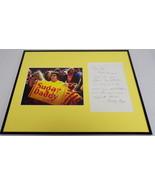 Bobby Riggs Signed Framed 16x20 Handwritten Letter & Photo Display - $233.74
