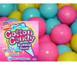 Cotton Candy 1 Inch Gumballs, 1LB - $14.27