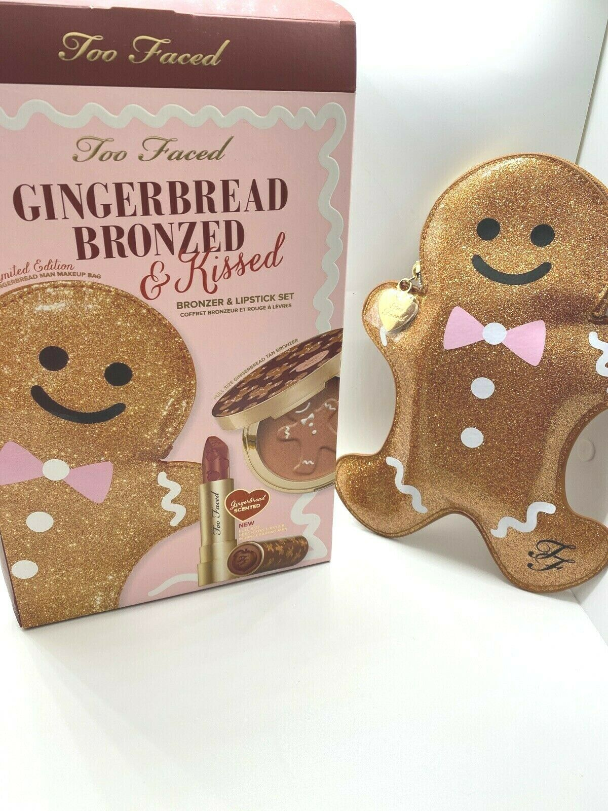 Too Faced GINGERBREAD BRONZED and KISSED - Authentic, New/boxed ~ LMTD ~ RARE - $60.14
