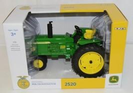 John Deere LP64409 Die Cast Metal Replica 2520 Diesel FFA Tractor image 1