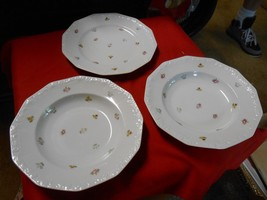 Beautiful Collectible Vintage Rosenthal Dinnerware-2 Soup Bowls & 1 Dinner Plate - $19.12