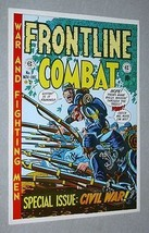 Rare original EC Comics Frontline Combat 9 Civil War comic book cover art poster - $29.99