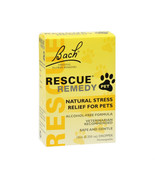 Bach Rescue Remedy Natural Stress Relief For Pets with Dropper 10 ml -No... - $12.86