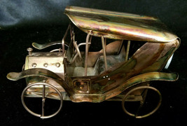 "Vintage Copper Ford Model T Music Box, Plays ""King of the Road"" c. 1970s - $18.00"