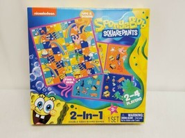 NEW SEALED 2020 Nickelodeon Spongebob SquarePants 2 in 1 Board Game - $13.99