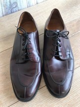 COLE HAAN Lace Up Shoes Burgundy Size 10 M - $36.62