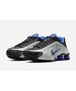 Nike Shox R4 Black/Racer Blue Shoes 104265 047 Men Sneakers  - $190.00