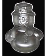 Wilton Cake Pan Snowman 2105-949 1990 - $10.95