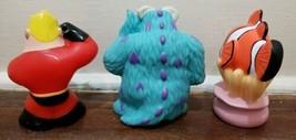 Disney Parks Pixar Bath Pool Toys Set, Mr. Incredible - Sulley - Nemo image 2