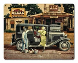 Berries and BBQ by Rat Rod Studios Metal Sign - $29.95