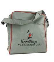 Vintage 1987 Walt Disney's Magic Kingdom Club Gray Tote Bag Vinyl - $21.01