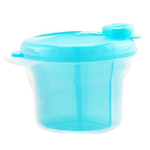 Baby Convenient Food Storage Toddler Mike Powder Carry-Out Box Blue
